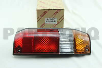 8155160370 Genuine Toyota LENS, REAR COMBINATION LAMP, RH 81551-60370