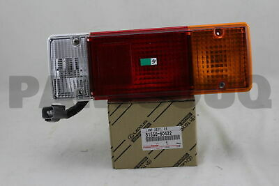 8155060422 Genuine Toyota LAMP ASSY, REAR COMBINATION, RH 81550-60422