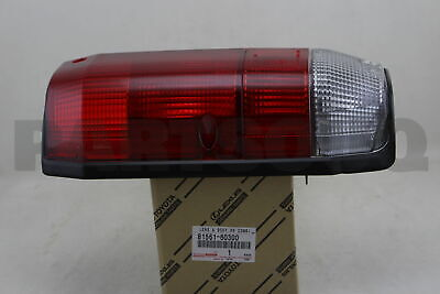 8156160300 Genuine Toyota LENS, REAR COMBINATION LAMP, LH 81561-60300
