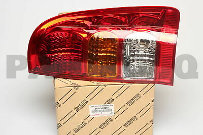 815500K010 Genuine Toyota LAMP ASSY, REAR COMBINATION, RH 81550-0K010