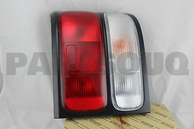 8156136310 Genuine Toyota LENS, REAR COMBINATION LAMP, LH 81561-36310