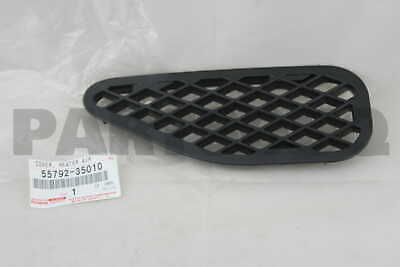 5579235010 Genuine Toyota COVER, HEATER AIR DUCT HOLE, NO.2 55792-35010
