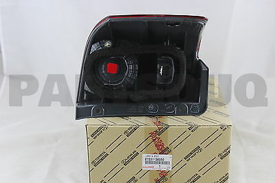 8155158050 Genuine Toyota LENS, REAR COMBINATION LAMP, RH 81551-58050