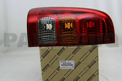 815610K010 Genuine Toyota LENS, REAR COMBINATION LAMP, LH 81561-0K010