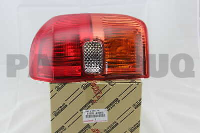 8155142060 Genuine Toyota LENS, REAR COMBINATION LAMP, RH 81551-42060