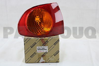815611E080 Genuine Toyota LENS, REAR COMBINATION LAMP, LH 81561-1E080