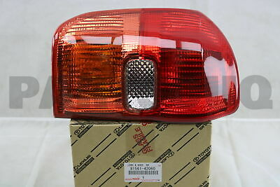 8156142060 Genuine Toyota LENS, REAR COMBINATION LAMP, LH 81561-42060