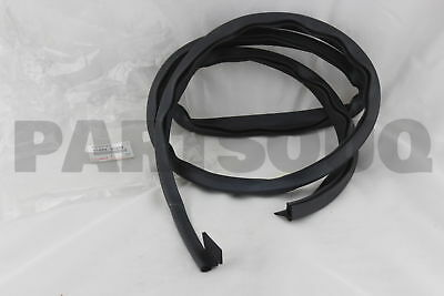 6168890308 Genuine Toyota WEATHERSTRIP, REAR BODY REAR SIDE, LH 61688-90308