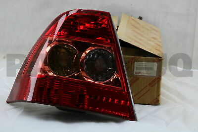 8156102250 Genuine Toyota LENS, REAR COMBINATION LAMP, LH 81561-02250