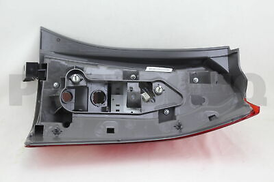 8156168030 Genuine Toyota LENS, REAR COMBINATION LAMP, LH 81561-68030