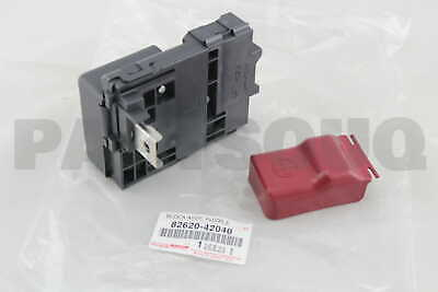 8262042040 Genuine Toyota BLOCK ASSY, FUSIBLE LINK 82620-42040