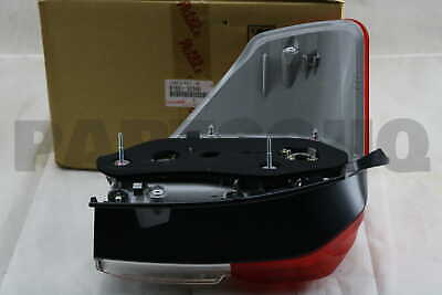 8155135360 Genuine Toyota LENS & BODY, REAR COMBINATION LAMP, RH 81551-35360