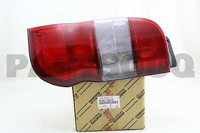 8155126310 Genuine Toyota LENS, REAR COMBINATION LAMP, RH 81551-26310