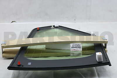6271060C10 Genuine Toyota WINDOW ASSY, QUARTER, RH 62710-60C10