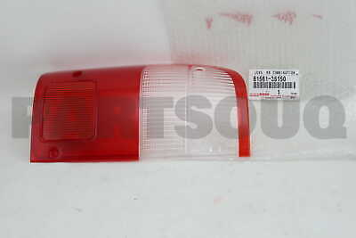 8156135150 Genuine Toyota LENS, REAR COMBINATION LAMP, LH 81561-35150
