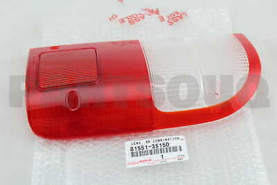 8155135150 Genuine Toyota LENS, REAR COMBINATION LAMP, RH 81551-35150
