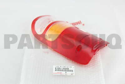 8156135250 Genuine Toyota LENS, REAR COMBINATION LAMP, LH 81561-35250