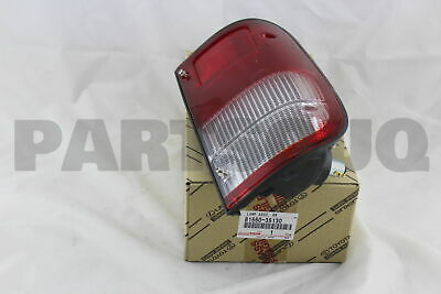8156035130 Genuine Toyota LAMP ASSY, REAR COMBINATION, LH 81560-35130