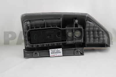 8155128431 Genuine Toyota LENS & BODY, REAR COMBINATION LAMP, RH 81551-28431