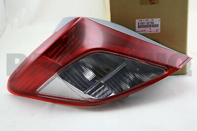 8156152750 Genuine Toyota LENS & BODY, REAR COMBINATION LAMP, LH 81561-52750