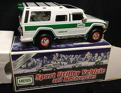 2004 HESS Sports Utility Vehicle and Motorcycles, NEW IN BOX
