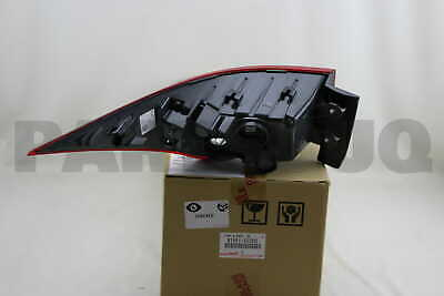 8156153280 Genuine Toyota LENS & BODY, REAR COMBINATION LAMP, LH 81561-53280
