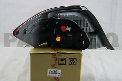 8155120A30 Genuine Toyota LENS & BODY, REAR COMBINATION LAMP, RH 81551-20A30
