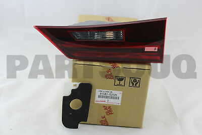 8158153141 Genuine Toyota LENS AND BODY, REAR LAMP, RH 81581-53141