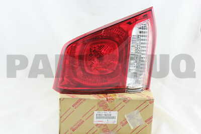 8159160220 Genuine Toyota LENS AND BODY, REAR LAMP, LH 81591-60220