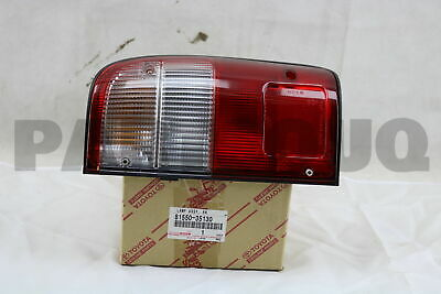 8155035130 Genuine Toyota LAMP ASSY, REAR COMBINATION, RH 81550-35130