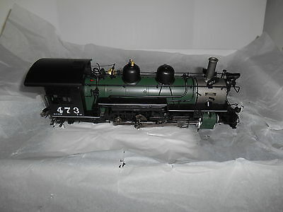 MMI/PSC DC1019-2 K-28 2-8-2 D&RGW On3 Road #473 Factory Painted