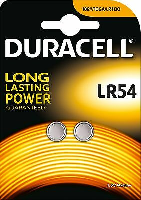Special Battery-Duracell Electronics LR54-Large Blister x2(Equivalent LR11301...