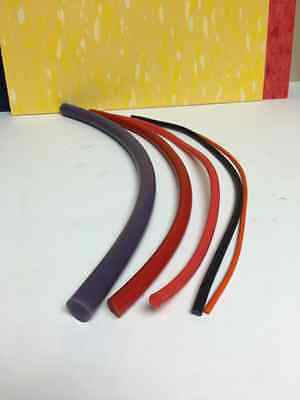High Temperature Resistant Solid Silicone Cord (maskings engraved parts,custom p