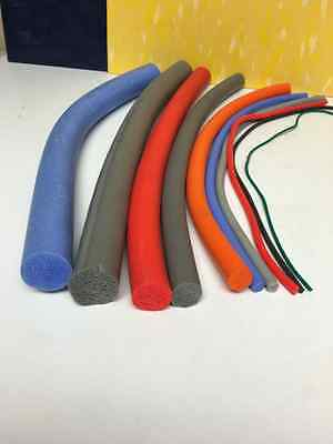 High Temperature Resistant Foam Silicone Cord (masking engraving,plugs,bolts)