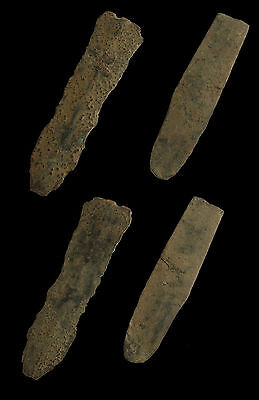 YA - Pair of bronze age knives knife weapon 3200–600 BC