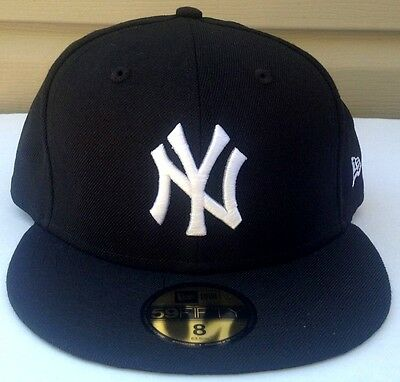 New York Yankees New Era  59 50 Fitted Hat Color Black