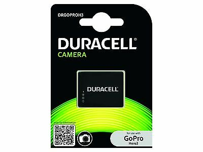 Duracell Replacement Digital Camera Battery AHDBT-201 for Go Pro Hero 3 and H...