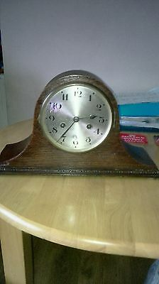 vintage German mantle clock