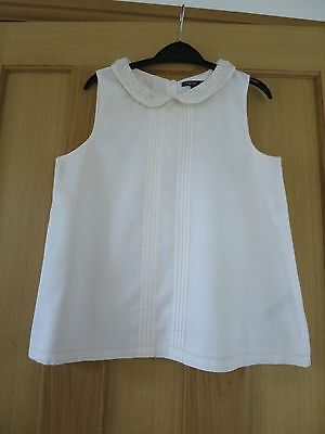 Girls Blouse In Pale Pink Age 11-12 By M&s.