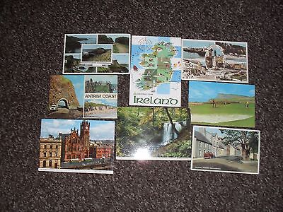 Collectable 1970's Postcards From Ireland. x 8