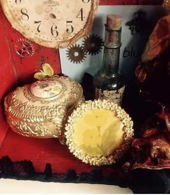 Cabinet Of Curiosities Assemblage Art Ooak Mixed Media Collage Altered Art