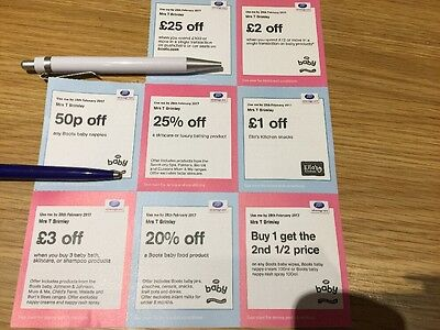 Boots Baby Vouchers/coupons Multiple Savings, Extra Points & Discounts