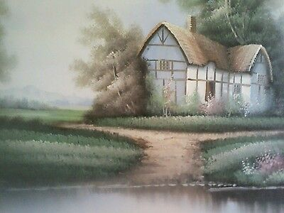 Canvas painting by Jane greaves