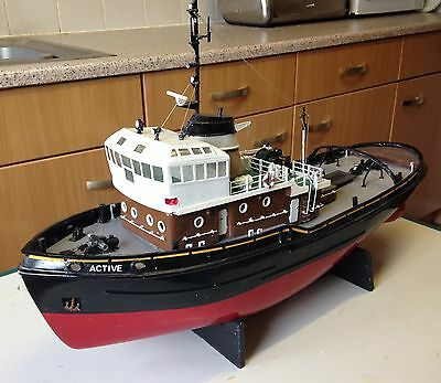 RC model Boat Liverpool Tug 'Active'