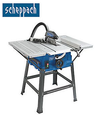 "Scheppach 10"" 250mm Table Saw 2000w 85mm Cut Depth! *NEW & VAT Receipt Included*"
