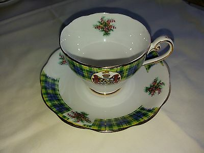 Vintage  Royal  Standard  Bonnie  Scotland  Clan  Campbell Cup  And  Saucer
