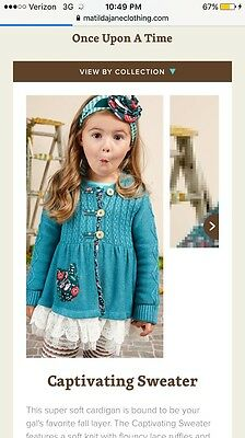 nwt matilda jane once upon a time captivating sweater size 12