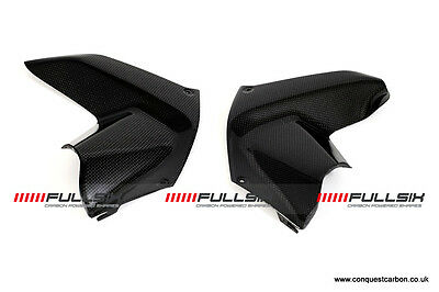 Fullsix Ducati Multistrada 1200 Carbon Side Air Covers - Gloss