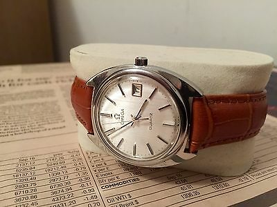 Vintage Omega Steel Quartz Watch With Date In Nice Condition - 3 Day Auction