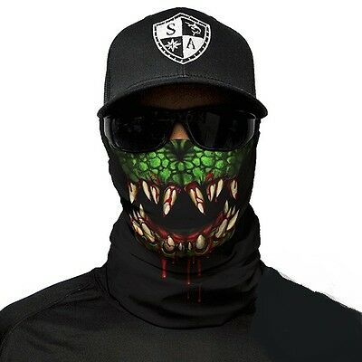 Salt Armour Face Shield UK Ski Snowboard Fishing Airsoft Mask - Cold Blooded